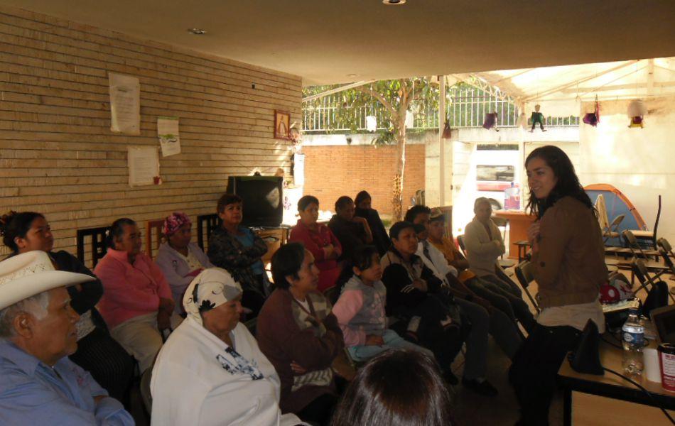 Labor social en el albergue municipal de Morelia- México