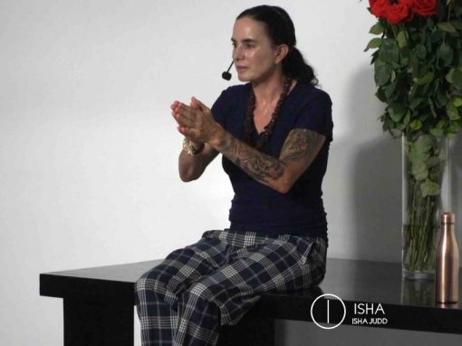 ISHA JUDD TALKS ABOUT HEALTH AND RELATIONSHIPS. DARSHAN FEBRUARY 8th 2019