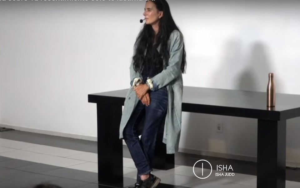 ISHA JUDD TALKS ABOUT HOW YOUR RESENTMENT ONLY HURTS YOU