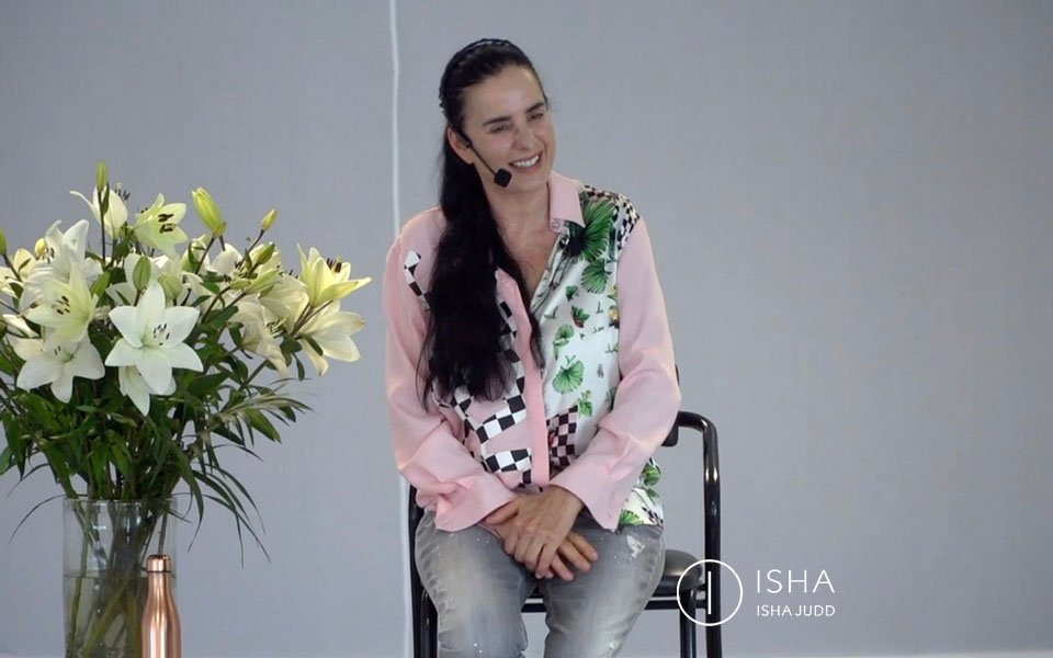 ISHA JUDD TALKS ABOUT CONSCIOUSS RELATIONSHIPS. DARSHAN JULY 16th 2019 MEXICO