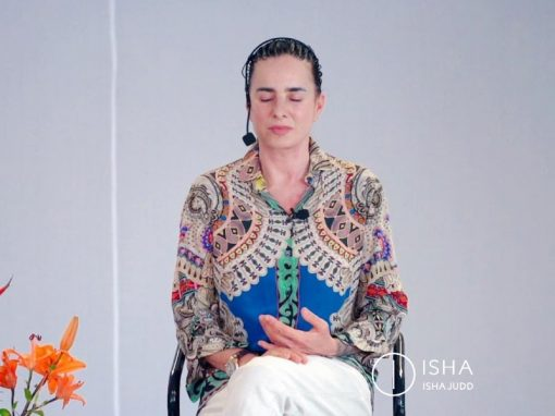 ISHA JUDD TALKS ABOUT GIVING AND RECEIVING. DARSHAN AUGUST 8TH 2019