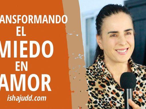 ISHA JUDD NOS HABLA SOBRE CÓMO TRANSFORMAR EL MIEDO EN AMOR. DARSHAN 9 ABRIL 2020