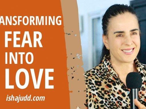 ISHA JUDD TALKS ABOUT TRANSFORMING FEAR INTO LOVE. DARSHAN APRIL 9TH 2020.