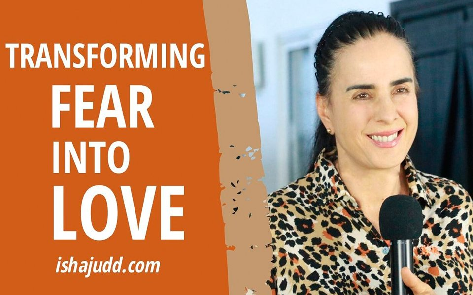 ISHA JUDD TALKS ABOUT TRANSFORMING FEAR INTO LOVE. DARSHAN APRIL 9TH 2020.