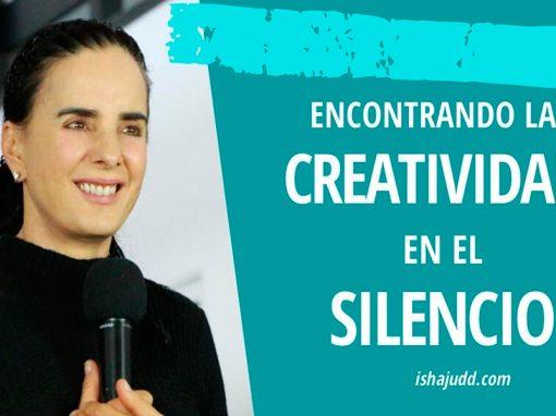 ISHA JUDD NOS HABLA SOBRE ENCONTRAR CREATIVIDAD EN EL SILENCIO. DARSHAN 15 ABRIL 2020.