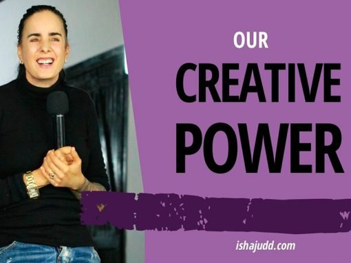 ISHA JUDD TALKS ABOUT OUR CREATIVE POWER. DARSHAN APRIL 17TH 2020.