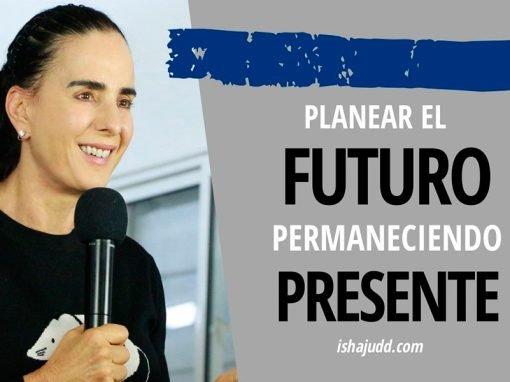 ISHA JUDD NOS HABLA SOBRE CÓMO PLANEAR EL FUTURO PERMANECIENDO EN EL PRESENTE. DARSHAN 16 ABRIL 2020