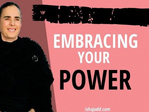 ISHA JUDD TALKS ABOUT EMBRACING YOUR POWER. DARSHAN MAY 24TH 2020.