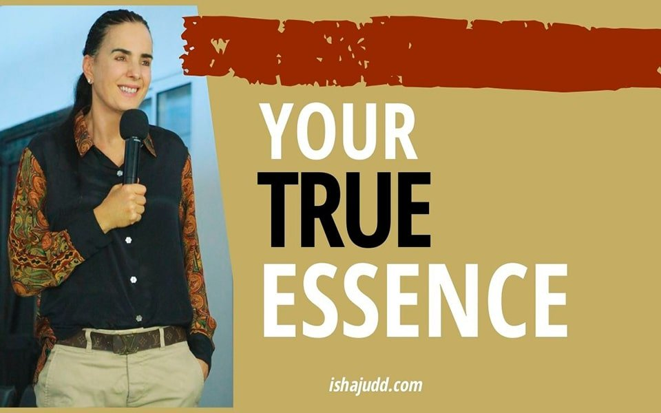 ISHA JUDD TALKS ABOUT FINDING YOUR TRUE ESSENCE. DARSHAN APRIL 19TH 2020.