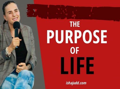 ISHA JUDD TALKS ABOUT THE PURPOSE OF LIFE. DARSHAN MAY 2ND 2020.