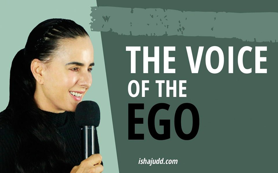 ISHA JUDD TALKS ABOUT THE VOICE OF THE EGO. DARSHAN MAY 1ST 2020.