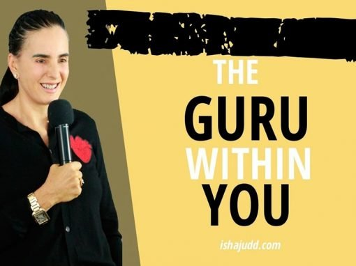 ISHA JUDD TALKS ABOUT FINDING THE GURU WITHIN YOU. DARSHAN MAY 3RD 2020.