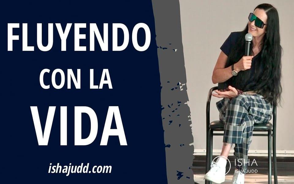 ISHA JUDD NOS HABLA SOBRE CÓMO SOLTAR Y FLUIR CON LA VIDA. DARSHAN 13 OCTUBRE 2020.