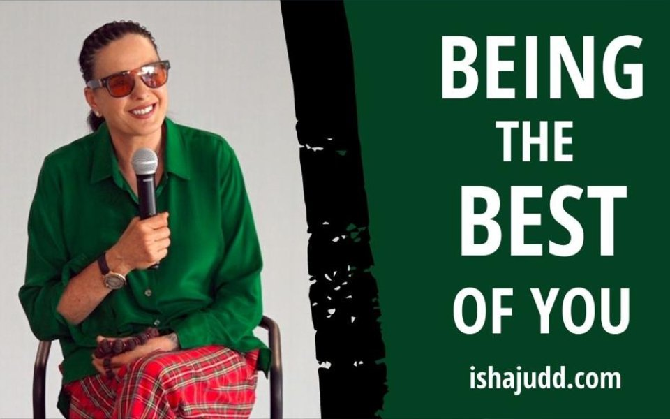 ISHA JUDD TALKS ABOUT BEING THE BEST OF YOU. DARSHAN OCTOBER 8TH 2020.