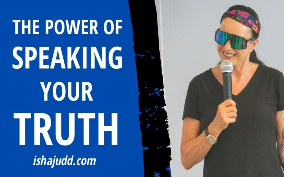 ISHA JUDD TALKS ABOUT THE POWER OF SPEAKING YOUR TRUTH. DARSHAN SEPT 28TH 2020
