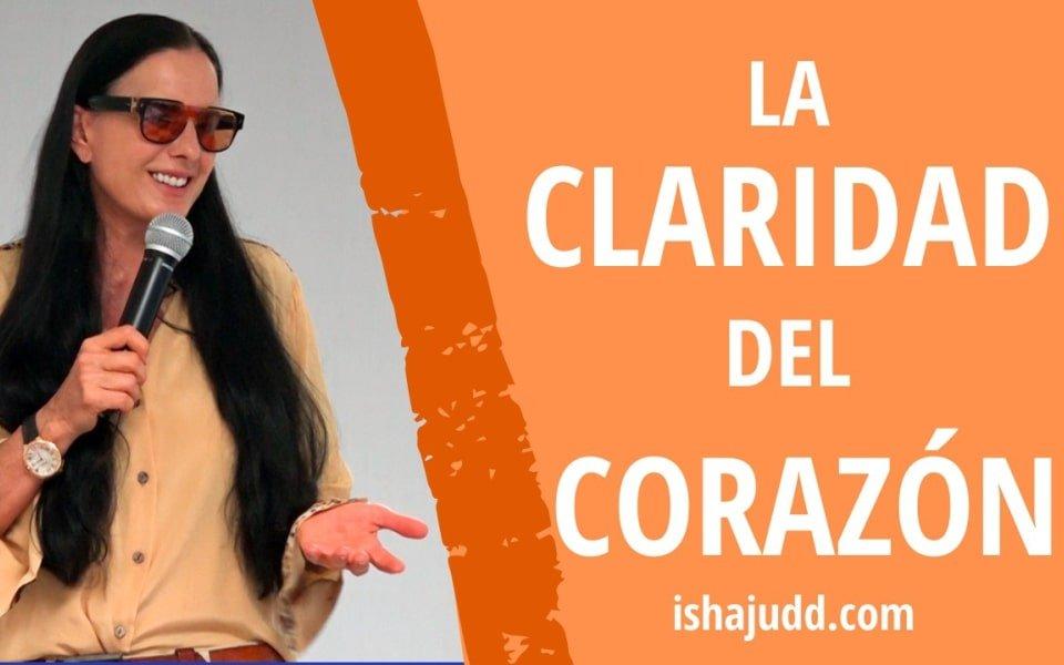 ISHA JUDD NOS HABLA SOBRE LA CLARIDAD DEL CORAZÓN. DARSHAN 21 NOV 2020.