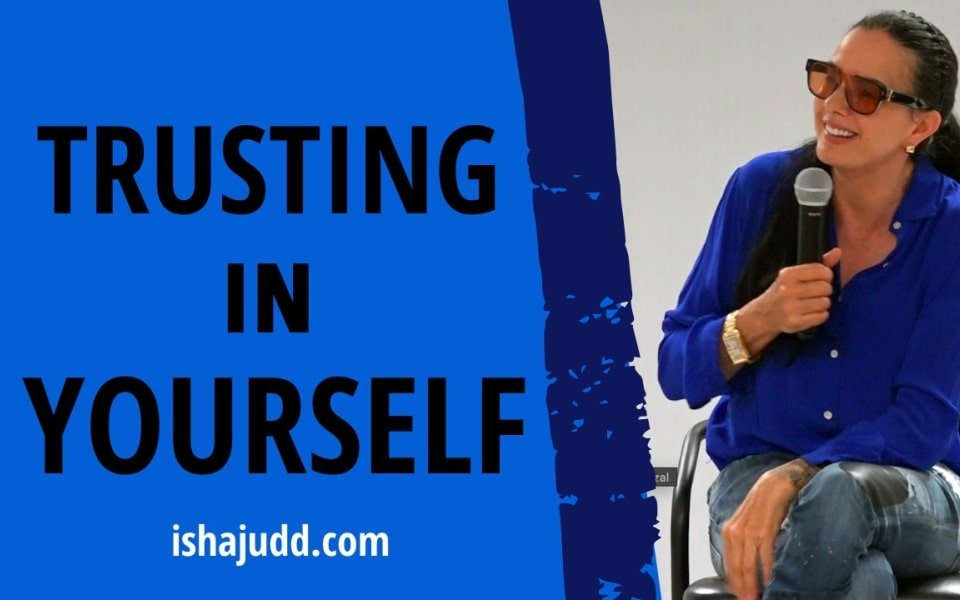 ISHA JUDD TALKS ABOUT TRUSTING IN YOURSELF. DARSHAN NOV 25 2020.