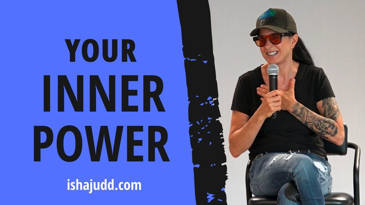 ISHA JUDD TALKS ABOUT YOUR INNER POWER. DARSHAN DEC 3RD 2020.