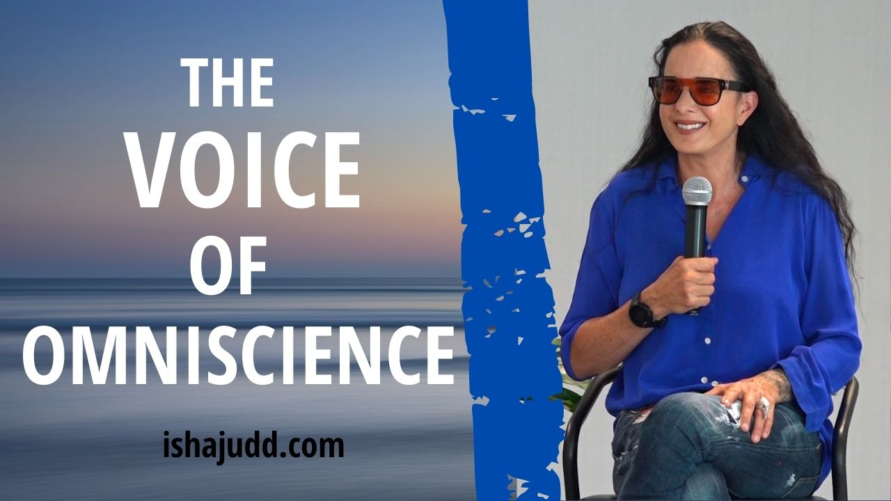 ISHA JUDD TALKS ABOUT THE VOICE OF OMNISCIENCE. DARSHAN APRIL 14 2021