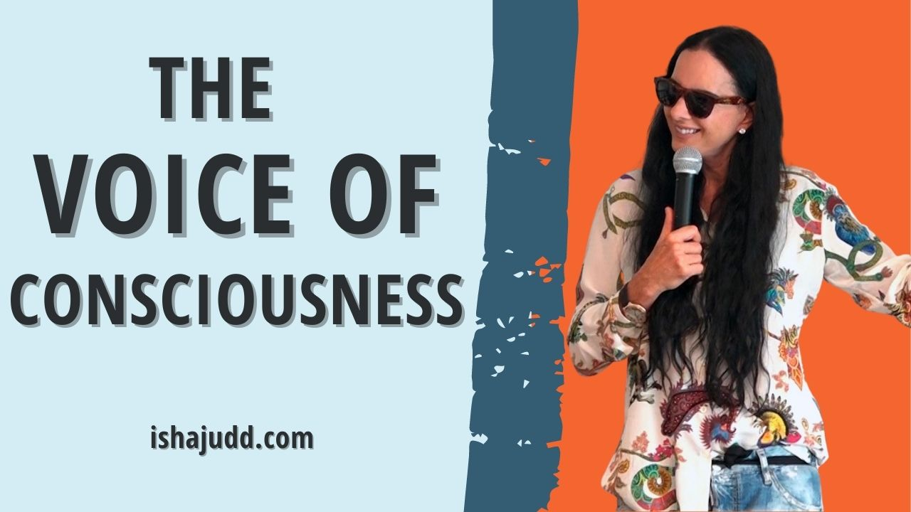 ISHA JUDD TALK ABOUT THE VOICE OF CONSCIOUSNESS. DARSHAN AUGUST 16 2021.