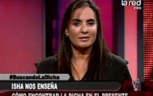 Isha – Entrevista la red television chile