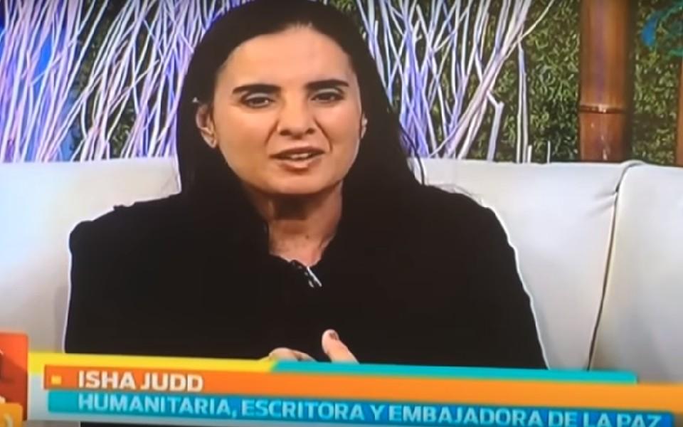"""Entrevista a Isha en el Matinal """"Nuestro Día"""""""