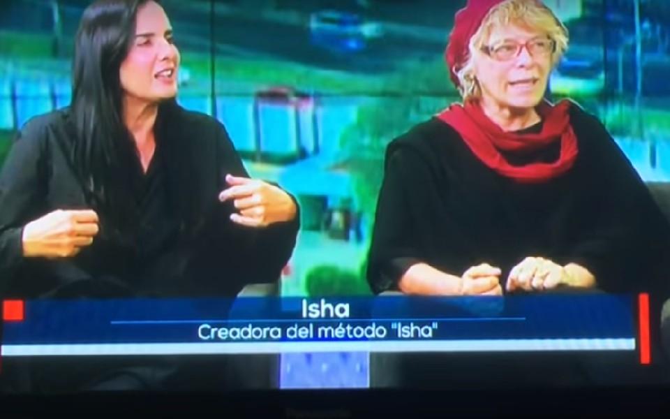 Entrevista a Isha en Línea TV Azteca