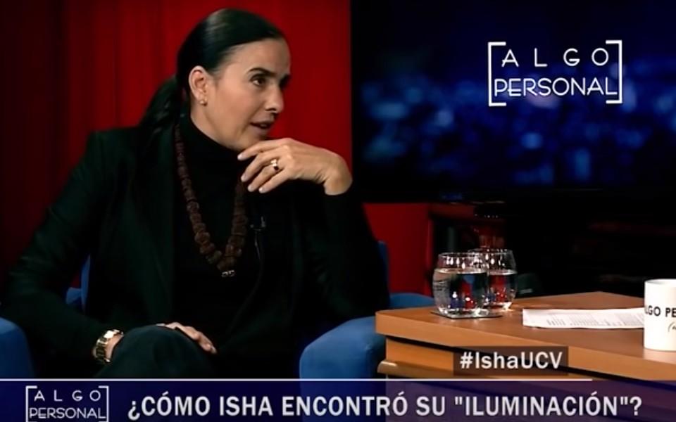 """Entrevista a Isha en """"Algo Personal"""", con el """"Pollo Valdivia"""" – Chile"""
