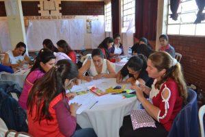 Isha Judd los docentes que participan del curso taller