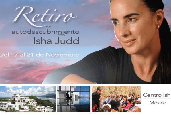 Retiro con Isha en Manzanillo del 17 al 21 de noviembre