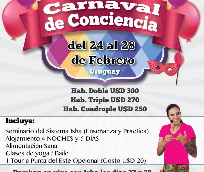Carnaval de Conciencia en Uruguay 24 al 28 Febrero 2017