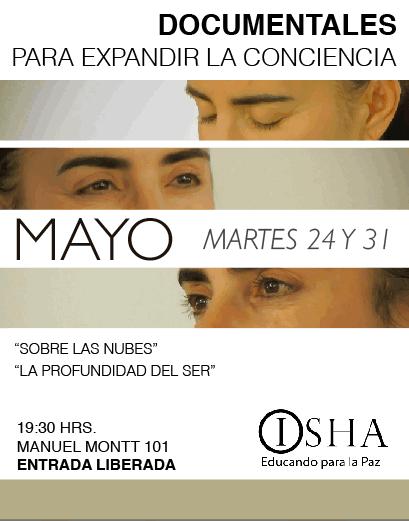 Ciclo de documentário para expandir a consciência – terça-feira 24-31 de maio
