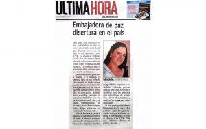 Isha Embajadora Paz