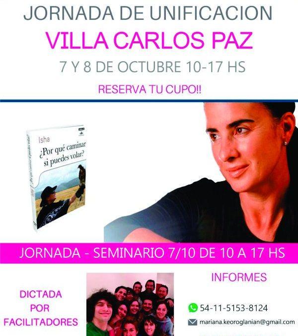 Jornada de unificación 7 y 8 de octubre