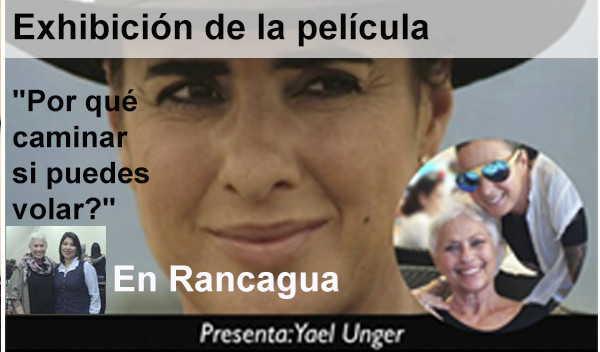 """Exhibición de la película """"Por qué caminar si puedes volar?"""" En Rancagua, Chile"""