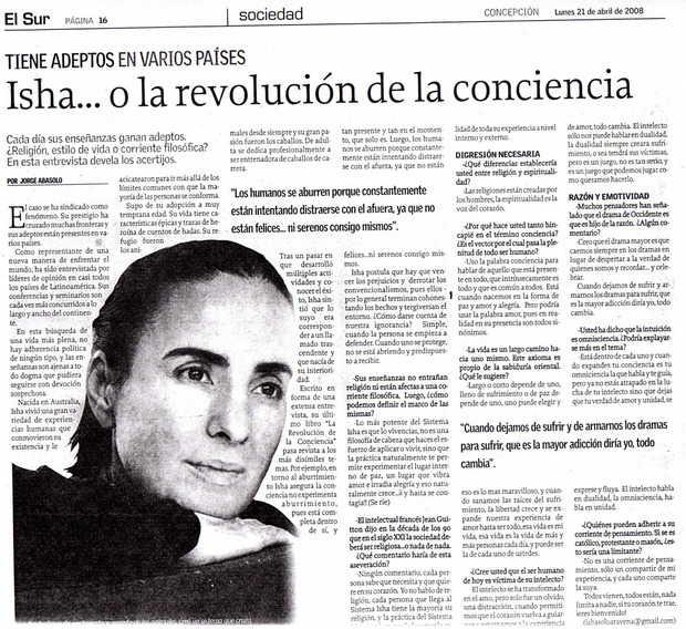 Diario El Sur, Chile