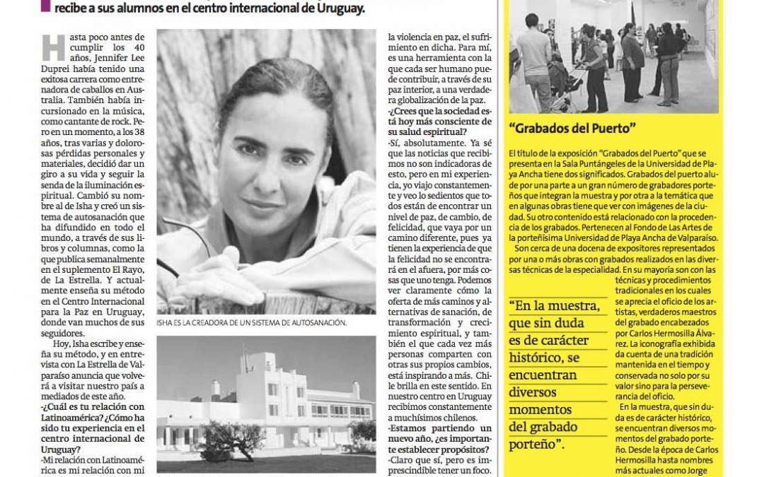 Maestra espiritual vuelve a Chile