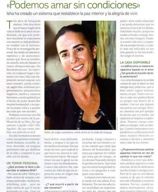 Revista Cuerpo Mente, España