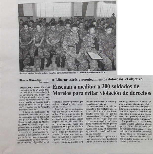 Periódico La Jornada, México