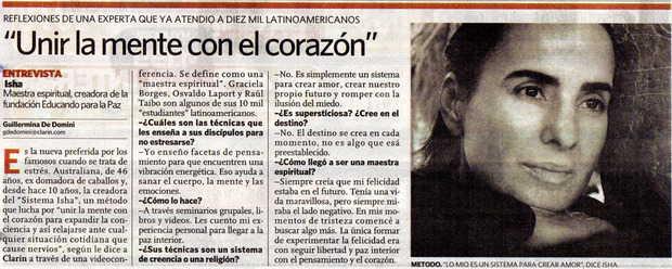 Diario Clarin, Argentina