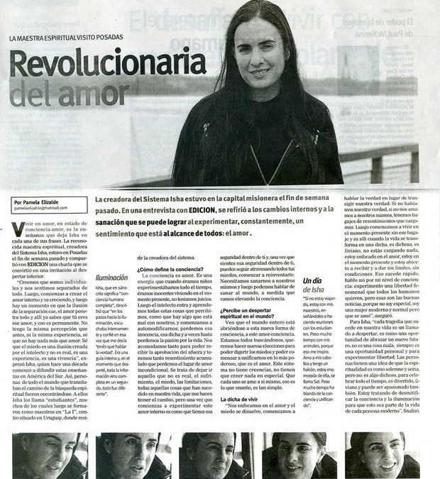 Primera Edicion, Posadas – Argentina