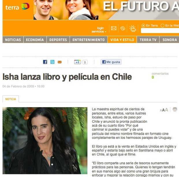 terra.cl, Chile