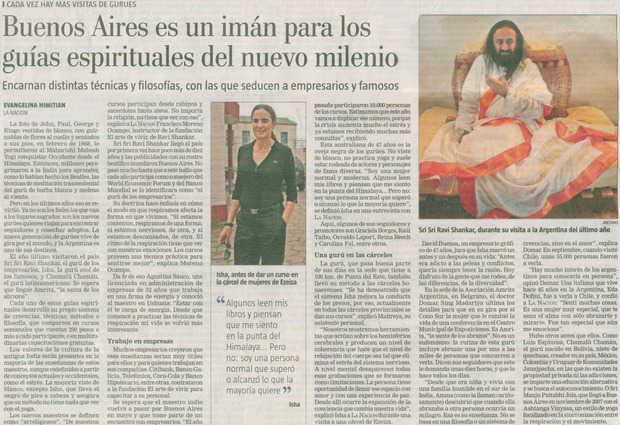 Diario La Nacion, Argentina