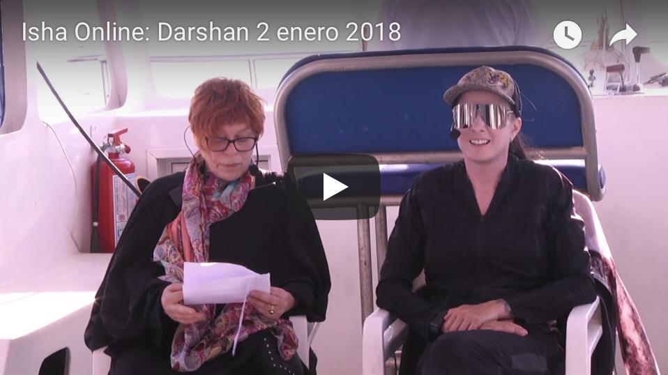 Darshan 2 Enero 2018 Centro Isha México