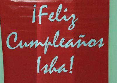 Isha - Celebrando cumpleanos Isha Chile 1