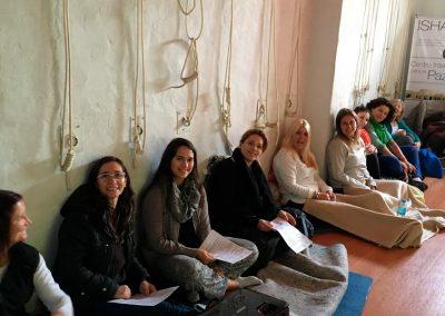 Isha - Taller Seminario Jornada Practica Rosario Argentina 1
