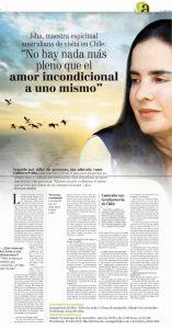 Isha – Diario El Mercurio de Chile