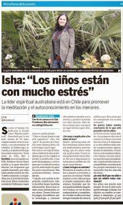 Isha – Entrevista Hoy x hoy