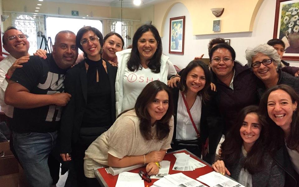 Hermoso seminario con Isha en México DF!