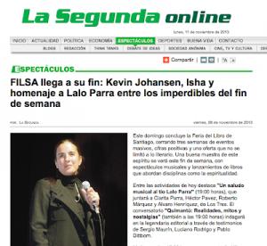 Isha – La segunda Chile